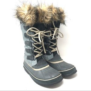 Sorel Joan Of Arctic Lace Up Tall Snow Duck Boots